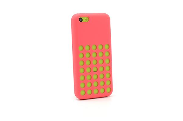 Silicon hole za iphone 5c (crvena)