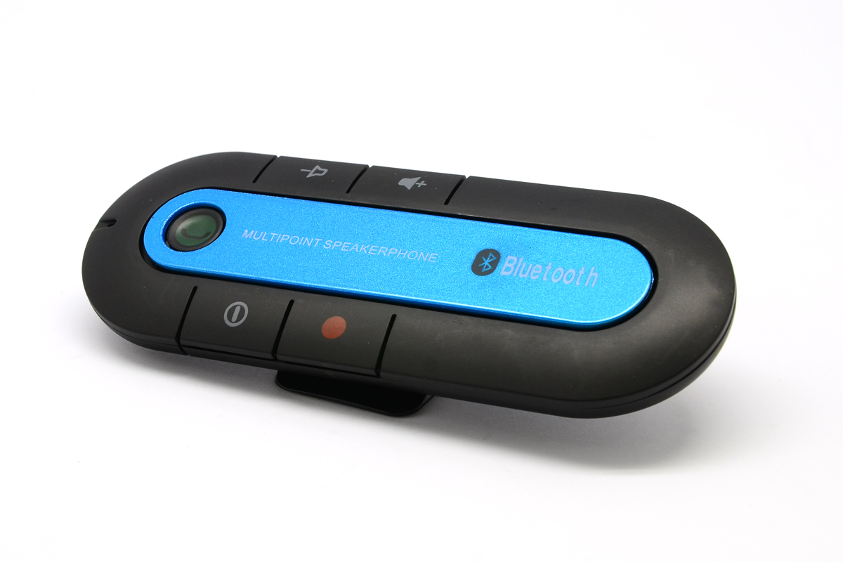 Bluetooth hands free car kit v3.0 edr (plavi)