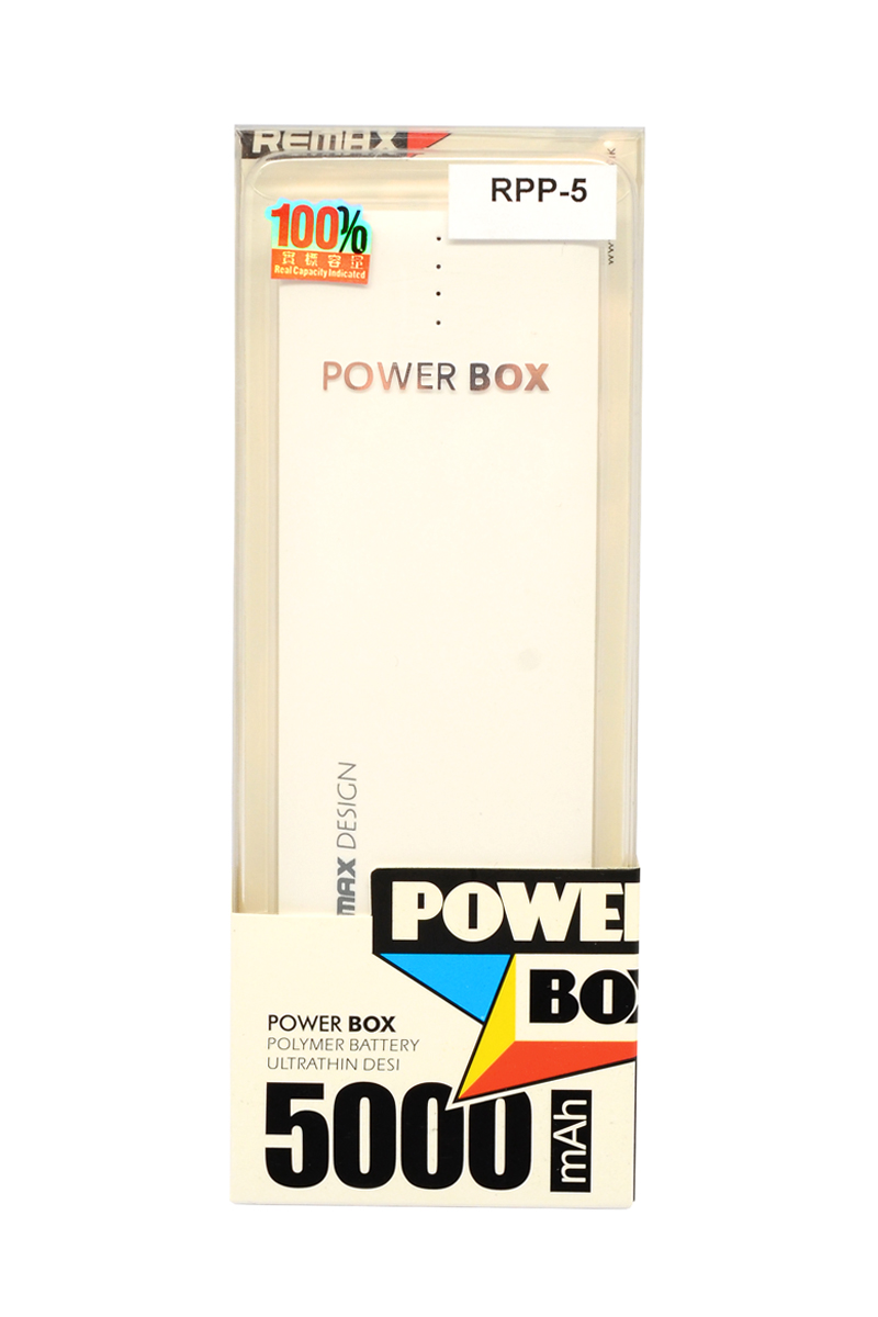Power bank remax power box rpp-5 5000 mah (beli)